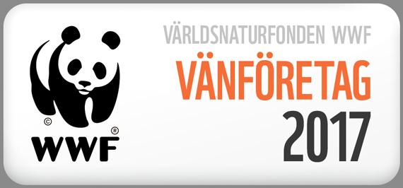 Vårt företag är WWF Vänföretag 2017